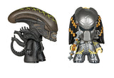 "4"" MYSTERY GLOW IN THE DARK ALIEN OR PREDATOR VINYL FIGURE"