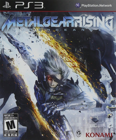 Metal Gear Rising: Revengeance - Playstation 3 (used)