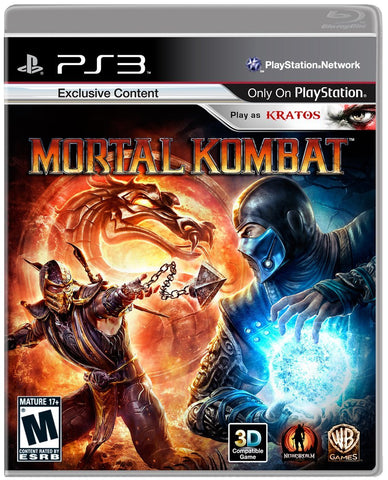 Mortal Kombat 9 - Playstation 3 (used)