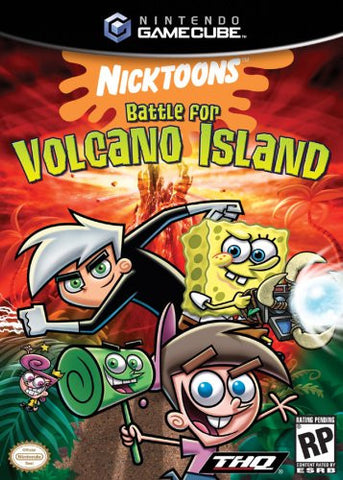 Nicktoons Battle for Volcano Island - Gamecube (Used)