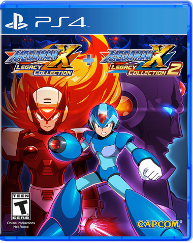 Mega Man X Legacy Collection 1+2 - PlayStation 4