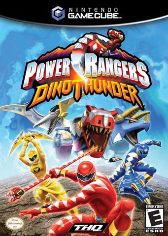 Power Rangers Dino Thunder - Gamecube (Used)