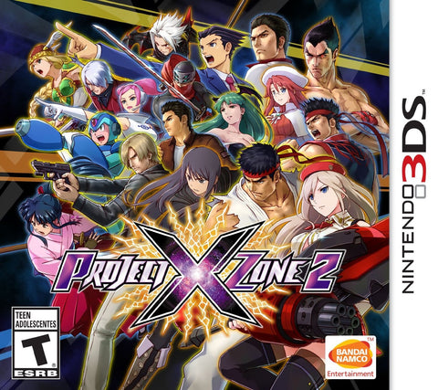 Project X Zone 2 - Nintendo 3DS