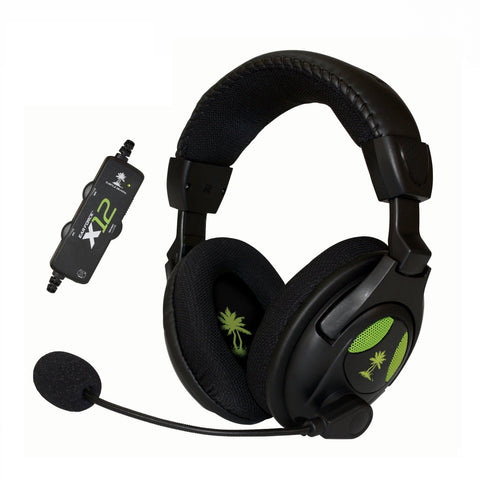 Turtle Beach - Ear Force X12 Amplified Stereo Gaming Headset TBS2255-01 - Xbox 360 -  USED