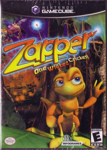 Zapper - One Wicked Cricket- Gamecube (used)