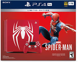 ps4 pro spiderman bundle