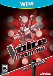 The Voice I Want You -  Wii U(used)