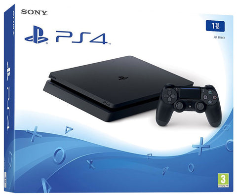 Consola PlayStation 4 Slim 1TB - Jet Black