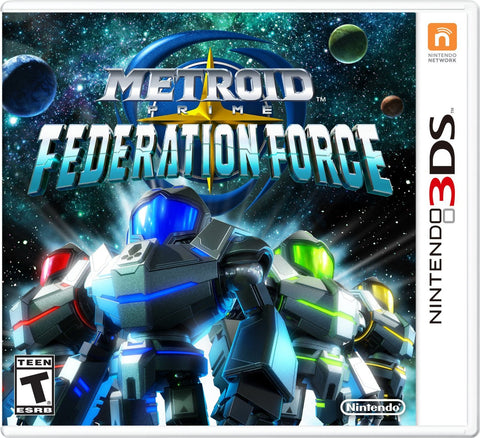 Metroid Prime Federation Force - 3DS - used