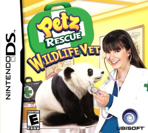 Petz Rescue Wildlife Vet - Nintendo DS (used)