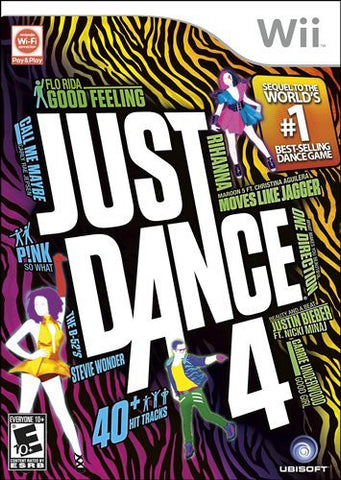 Just Dance 4 - Nintendo Wii (Used)