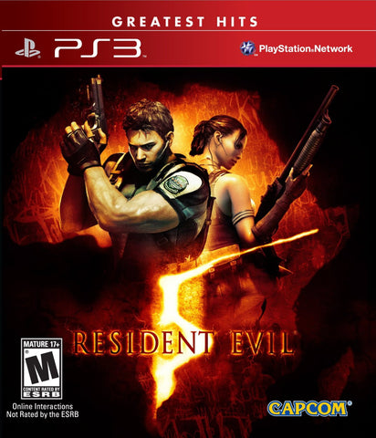 Resident Evil 5 - Playstation 3 (used)