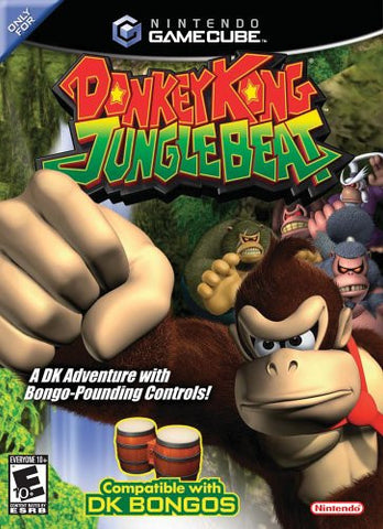 Donkey Kong Jungle Beat - Gamecube  (Used)