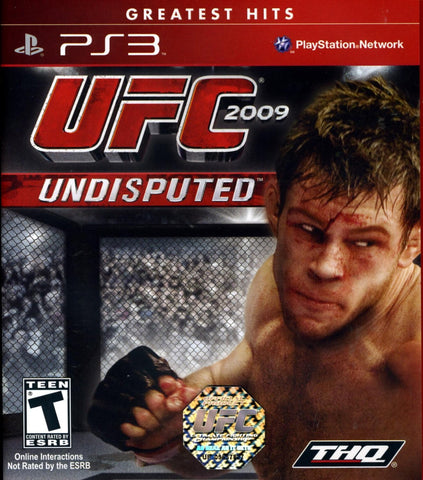 UFC Undisputed 2009 - Playstation 3 - Used