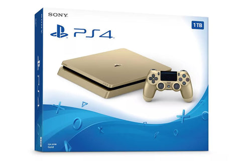 Consola PlayStation 4 Slim 1TB Limited edition gold