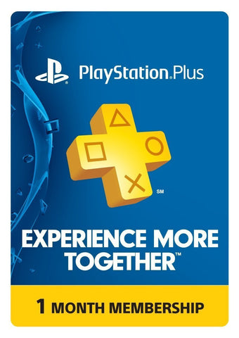 PlayStation Plus Membership (PSN)  - PS3/ PS4/ PS Vita [Digital Code]