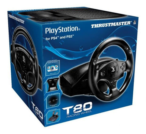Trustmaster T80 Racing Wheel para PS3 y PS4