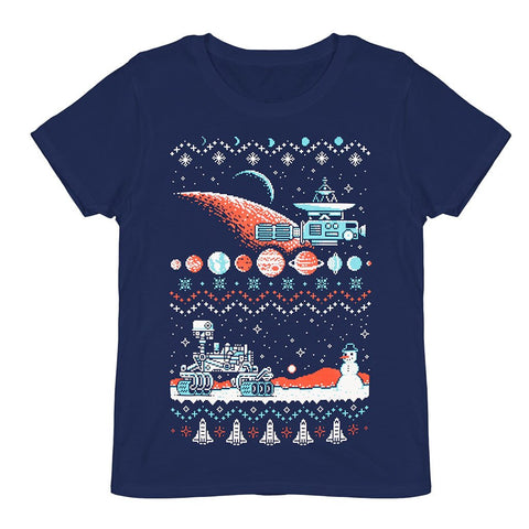 T-SHIRT HOLIDAY SWEATER