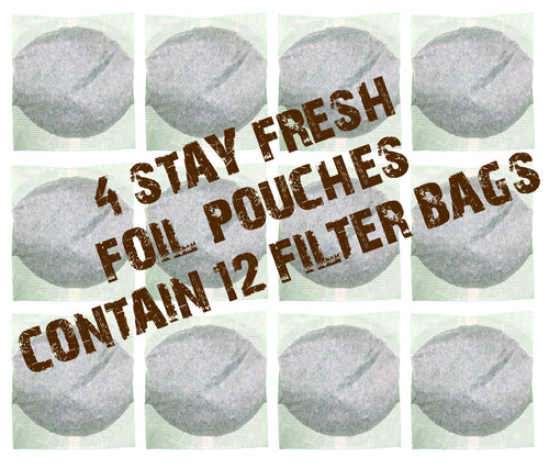 4-Pack (12 filter bags) | One Time Purchase $30 or Subscribe & Save 10%: $27