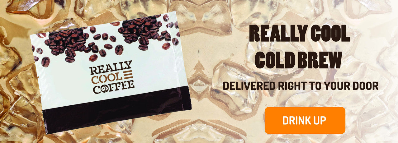 Cold brew coffee - easy as 1-2-3 - delivered to your door!