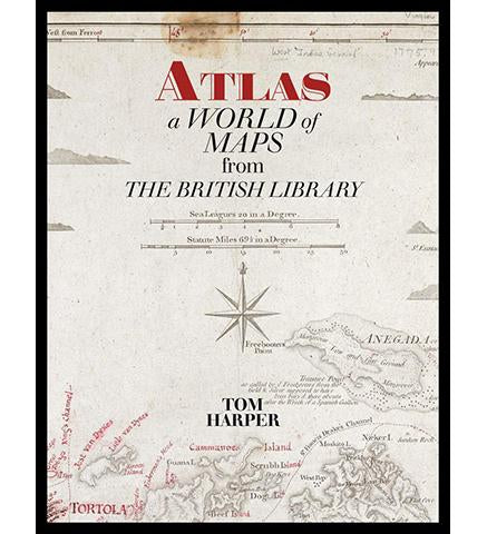 Atlas : A World of Maps from the British Library available to buy at Museum Bookstore