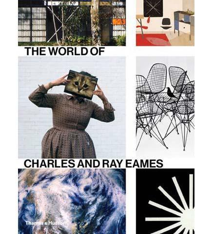 The World of Charles and Ray Eames - the exhibition catalogue from Barbican Art Gallery available to buy at Museum Bookstore
