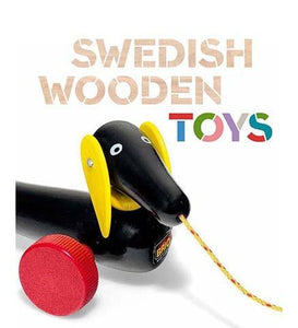 Swedish Wooden Toys - the exhibition catalogue from Bard Graduate Center available to buy at Museum Bookstore