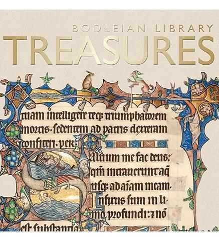 Bodleian Library Treasures - the exhibition catalogue from Bodleian Library available to buy at Museum Bookstore