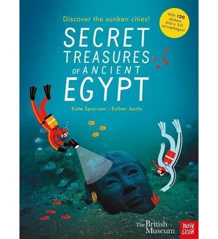 British Museum: Secret Treasures of Ancient Egypt: Discover the Sunken Cities - the exhibition catalogue from British Museum available to buy at Museum Bookstore