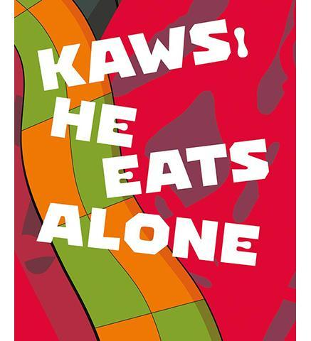Fire Station, Doha KAWS : He Eats Alone exhibition catalogue
