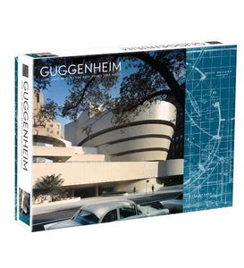 Frank Lloyd Wright Guggenheim 2-Sided 500 Piece Puzzle - the exhibition catalogue from Frank Lloyd Wright Foundation available to buy at Museum Bookstore