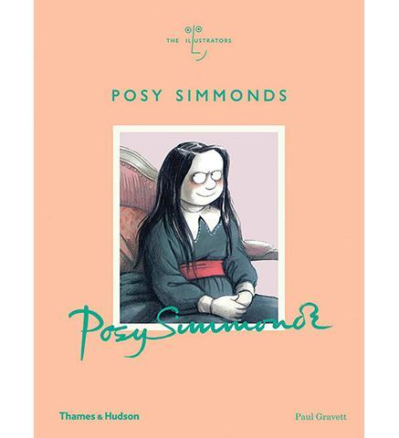 Posy Simmonds - the exhibition catalogue from House of Illustration available to buy at Museum Bookstore