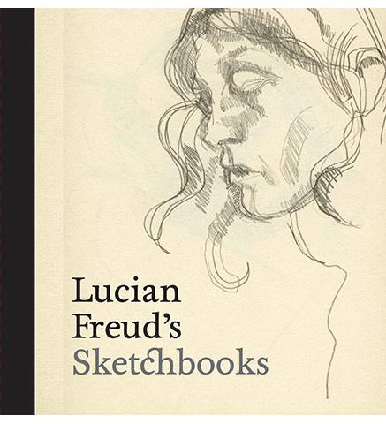 Lucian Freud's Sketchbooks available to buy at Museum Bookstore