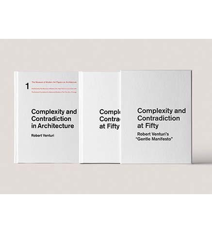 Complexity and Contradiction at fifty : Studies toward an Ongoing Debate - the exhibition catalogue from MoMA available to buy at Museum Bookstore
