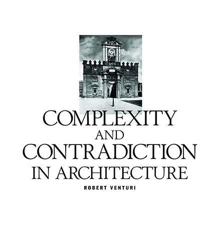 Complexity and Contradiction in Architecture - the exhibition catalogue from MoMA available to buy at Museum Bookstore
