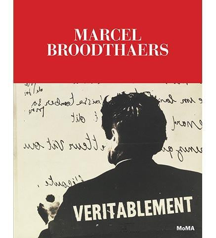 Marcel Broodthaers: A Retrospective - the exhibition catalogue from MoMA available to buy at Museum Bookstore