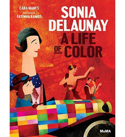 Sonia Delaunay : A Life of Color - the exhibition catalogue from MoMA available to buy at Museum Bookstore