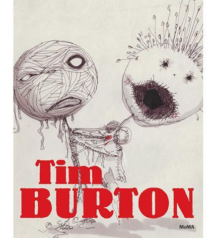 Tim Burton - the exhibition catalogue from MoMA available to buy at Museum Bookstore