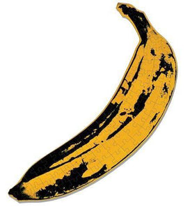 Andy Warhol Mini Shaped Banana Puzzle - the exhibition catalogue from Museum Bookstore available to buy at Museum Bookstore