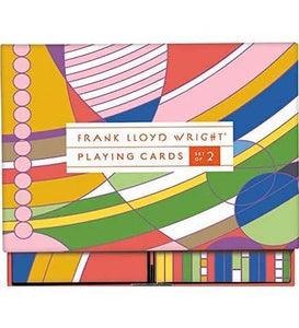 Frank Lloyd Wright Playing Card Set - the exhibition catalogue from Museum Bookstore available to buy at Museum Bookstore