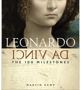 Leonardo Da Vinci: The 100 Milestones - the exhibition catalogue from Museum Bookstore available to buy at Museum Bookstore