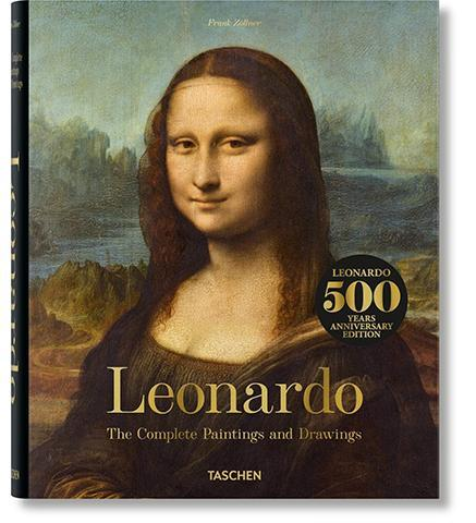 Leonardo: The Complete Paintings and Drawings - the exhibition catalogue from Museum Bookstore available to buy at Museum Bookstore