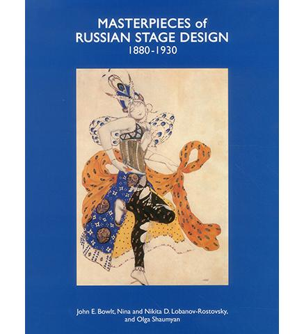 Museum Bookstore Masterpieces of Russian Stage Design: 1880-1930 exhibition catalogue