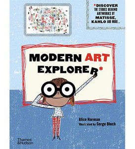 Museum Bookstore Modern Art Explorer : Discover the stories behind famous artworks exhibition catalogue