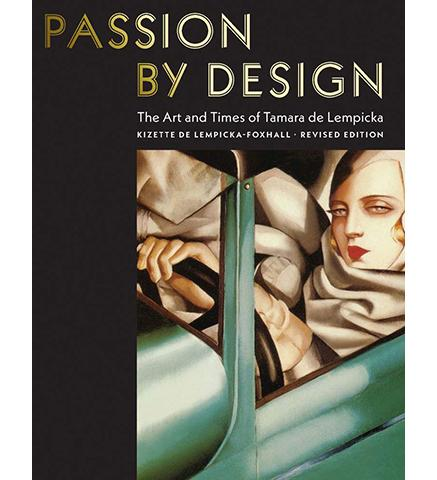 Museum Bookstore Passion by Design : The Art and Times of Tamara de Lempicka exhibition catalogue