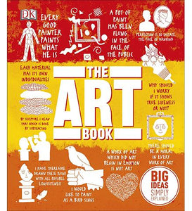 Museum Bookstore The Art Book : Big Ideas Simply Explained exhibition catalogue