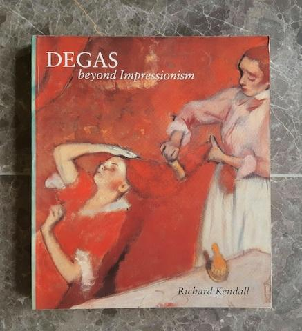 National Gallery/Art Institute of Chicago Degas: Beyond Impressionism exhibition catalogue