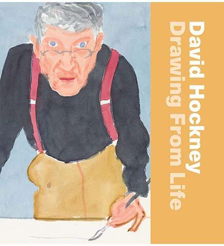 David Hockney: Drawing from Life - the exhibition catalogue from National Portrait Gallery available to buy at Museum Bookstore