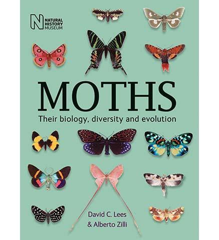Moths : Their biology, diversity and evolution - the exhibition catalogue from Natural History Museum available to buy at Museum Bookstore