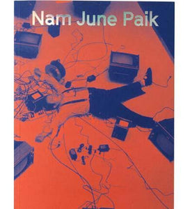 Nam June Paik - the exhibition catalogue from Tate available to buy at Museum Bookstore